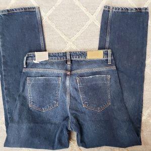 NWT Zara Basic Z1975 Straight Leg Jeans 34 (2)